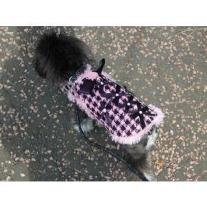 犬のコート【All About Business】犬のツイードコート/ペットのコート/犬服/犬の洋服|wanwan3dogs|02