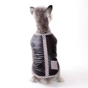 犬のコート【Classic Chic 】チェック/フリース/トラッド/犬服/ペットコート/ドゴ|wanwan3dogs