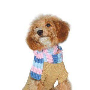 ★今だけSALE★犬のセーター【スカーフ カシミアセーター】 wanwan3dogs