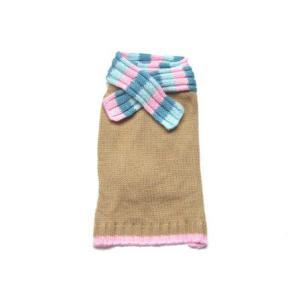 ★今だけSALE★犬のセーター【スカーフ カシミアセーター】 wanwan3dogs 02