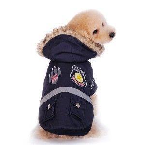 犬のジャケット【ポリス】コート|wanwan3dogs