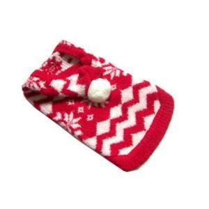 犬のセーター【Super Soft Red Snowflake】クリスマス/雪柄/犬のニット/ペットセーター/犬服/ヒップドギー|wanwan3dogs|03