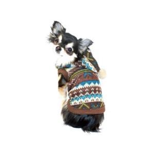 犬のセーター【Fair Isle】パーカー wanwan3dogs 02