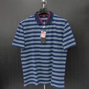 バラシ 半袖ポロシャツ インディゴ 50サイズ 1250-2523-53 barassi|wanwan