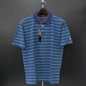 バラシ 半袖ポロシャツ インディゴ 50サイズ 1250-2523-55 barassi|wanwan