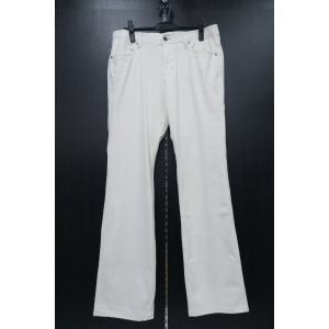 バラシ ストレッチカジュアルパンツ 84-93cm 白 1250-4904-10 barassi|wanwan