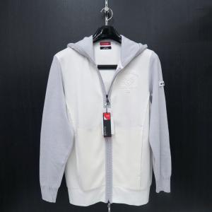 バラシ ジップアップパーカー 白 50サイズ 1251-2493-10 barassi|wanwan