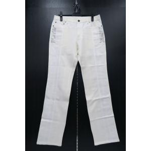 バラシ 5ポケットカジュアルパンツ 白 1251-4992-10 barassi 96-101cm|wanwan