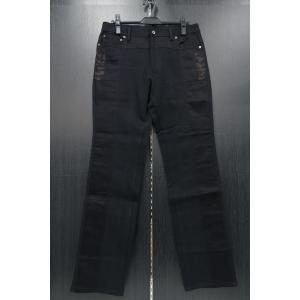 バラシ 5ポケットカジュアルパンツ 黒 1251-4992-20 barassi 96-101cm|wanwan