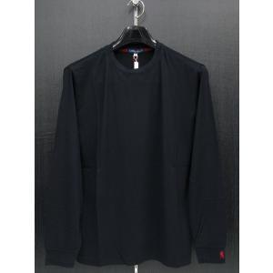 ラウラ フェリーチェ カシミヤシルク混丸首Tシャツ 紺 127-5101-B7 LAURA  Felice|wanwan