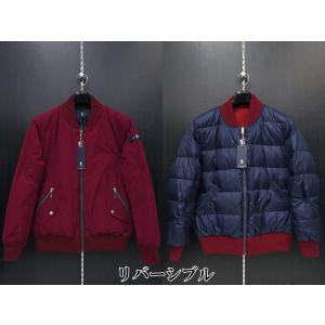 ラウラ フェリーチェ MA-1タイプダウンブルゾン 赤 131-1013-45 LAURA  Felice|wanwan
