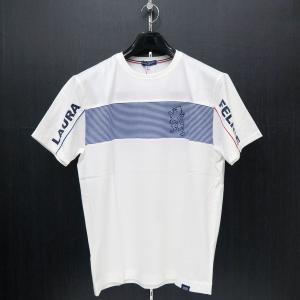 ラウラ フェリーチェ 半袖Tシャツ 白 50サイズ 132-5506-12 LAURA  Felice|wanwan