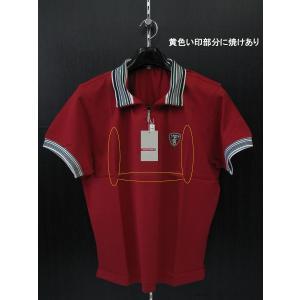 訳有り ラウラフィウム 半袖ポロシャツ 14-4507-R4 LAURA FIUME 50サイズ|wanwan