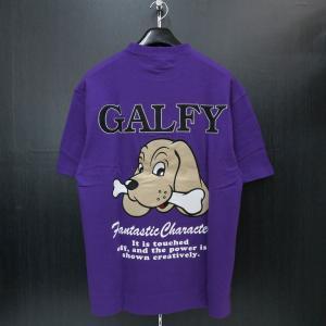 クラッチガルフィー 半袖Tシャツ 紫 F 172150-110 CRUTCHGALFY|wanwan