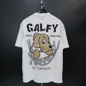 クラッチガルフィー 半袖Tシャツ 白 F 172151-10 CRUTCHGALFY|wanwan