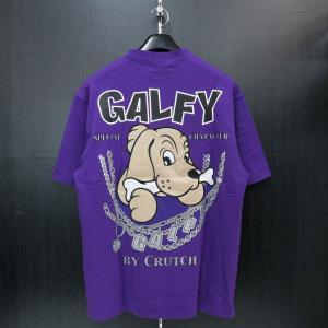 クラッチガルフィー 半袖Tシャツ 紫 F 172151-110 CRUTCHGALFY|wanwan