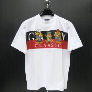 クラッチガルフィー 半袖Tシャツ 白 L/XL 181070-10 CRUTCHGALFY|wanwan