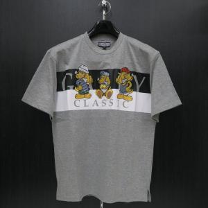 クラッチガルフィー 半袖Tシャツ グレー L/XL 181070-120 CRUTCHGALFY|wanwan