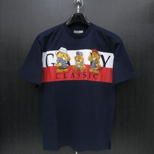 クラッチガルフィー 半袖Tシャツ 紺 L/XL 181070-40 CRUTCHGALFY|wanwan