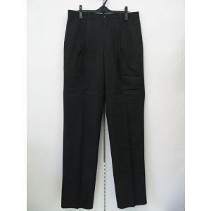 グリーンクラブ 2タック綿パンツ 黒 1821-1706-17 GREENCLUBS|wanwan