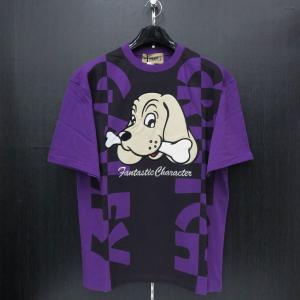 クラッチガルフィー 半袖Tシャツ Fサイズ パープル 182152-110 CRUTCHGALFY|wanwan