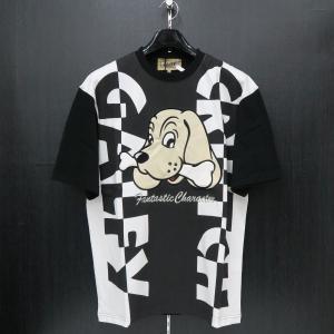 クラッチガルフィー 半袖Tシャツ Fサイズ 黒 182152-20 CRUTCHGALFY|wanwan