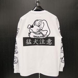 クラッチガルフィー 長袖Tシャツ L/XLサイズ 白 184007-10 CRUTCHGALFY wanwan