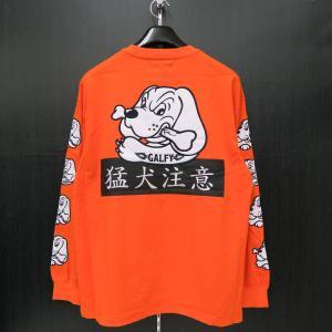 クラッチガルフィー 長袖Tシャツ L/XLサイズ オレンジ 184007-130 CRUTCHGALFY wanwan