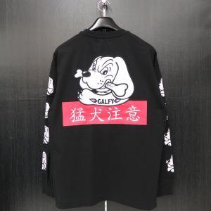 クラッチガルフィー 長袖Tシャツ L/XLサイズ 黒 184007-20 CRUTCHGALFY wanwan