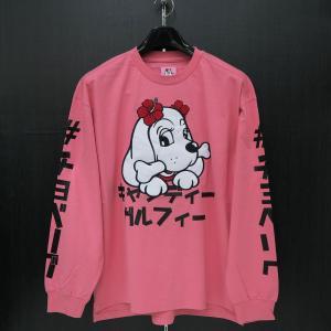 キャンディーガルフィー 長袖Tシャツ Lサイズ ピンク 184012-50 CRUTCHGALFY wanwan