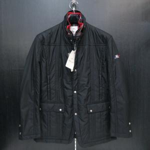 バジエ 中綿入りジャケット 黒 2120-3051-20 VAGIIE|wanwan
