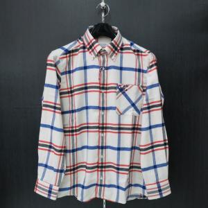 カプリ 長袖ボタンダウンシャツ 白2131-1008-11 CAPRI|wanwan