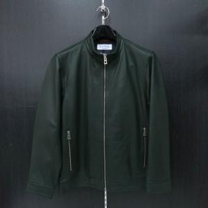 カプリ 羊革ブルゾン グリーン 2131-3031-90 CAPRI|wanwan