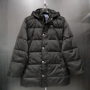カプリ ダウンハーフコート 48/50 黒 CAPRI 2131-8201-20|wanwan