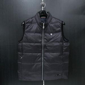 カプリ ダウンベスト 黒 2131-9052-20 CAPRI|wanwan