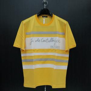 カステルバジャック 半袖Tシャツ イエロー 50サイズ 21370-114-30 castelbajac|wanwan
