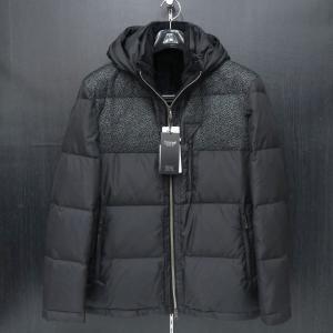 バラシ パーカーダウンジャケット 黒 52サイズ 2150-3062-20 barassi wanwan