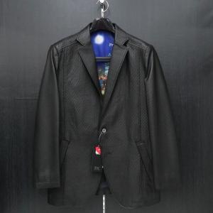 バラシ 本革ジャケット 黒 50サイズ 2150-6781-20 barassi wanwan