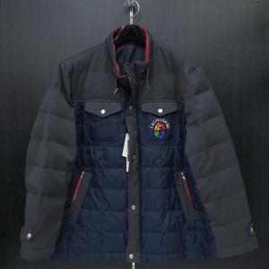 カステルバジャック ダウンジャケット 紺 50サイズ 21510-103-95 castelbajac|wanwan