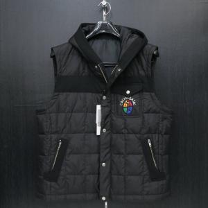 カステルバジャック ダウンベスト 黒 50サイズ 21513-102-99 castelbajac|wanwan