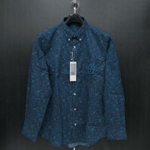 カステルバジャック ボタンダウンシャツ長袖 48/50サイズ 21660-119-56 castelbajac|wanwan