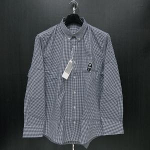 カステルバジャック ボタンダウンシャツ長袖 紺 48/50サイズ 21660-303-59 castelbajac|wanwan