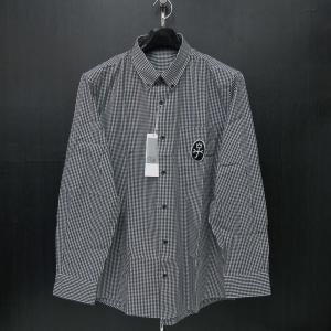 カステルバジャック ボタンダウンシャツ長袖 黒 48/50サイズ 21660-303-99 castelbajac|wanwan
