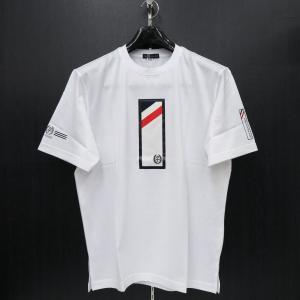 カステルバジャック 半袖Tシャツ 白 50サイズ 21770-115-01 castelbajac|wanwan