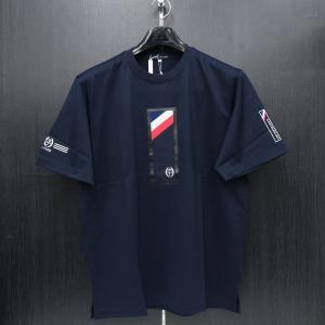 カステルバジャック 半袖Tシャツ 紺 50サイズ 21770-115-59 castelbajac|wanwan