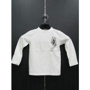 絡繰 カラクリ 長袖Tシャツ 子供服 263521-10 KARAKURI|wanwan
