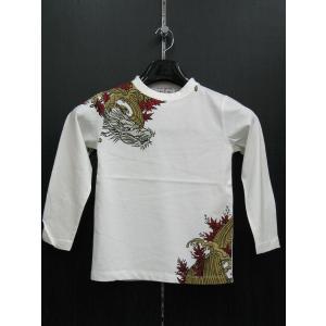 絡繰 カラクリ 長袖Tシャツ 子供服 263522-10 KARAKURI|wanwan