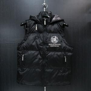 デュークスデューチェ ベスト 黒 317205-15 DOUX DOUCE|wanwan