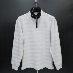 デュークスデューチェ 長袖ハーフジップTシャツ グレー 317223-04 DOUX DOUCE|wanwan