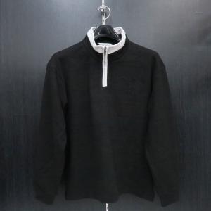 デュークスデューチェ 長袖ハーフジップTシャツ 黒 317223-15 DOUX DOUCE|wanwan